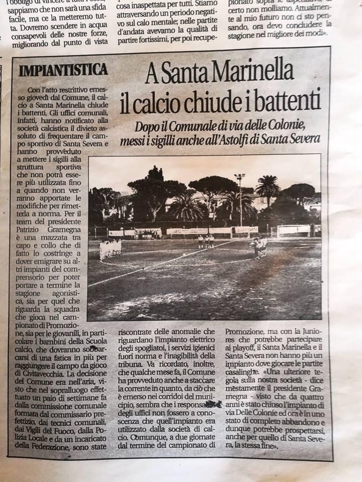 Santa Marinella, il Prefetto chiude l'impianto