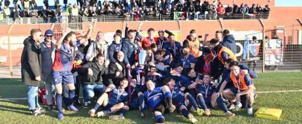 Coppa Italia Eccellenza, l'urlo di Centioni